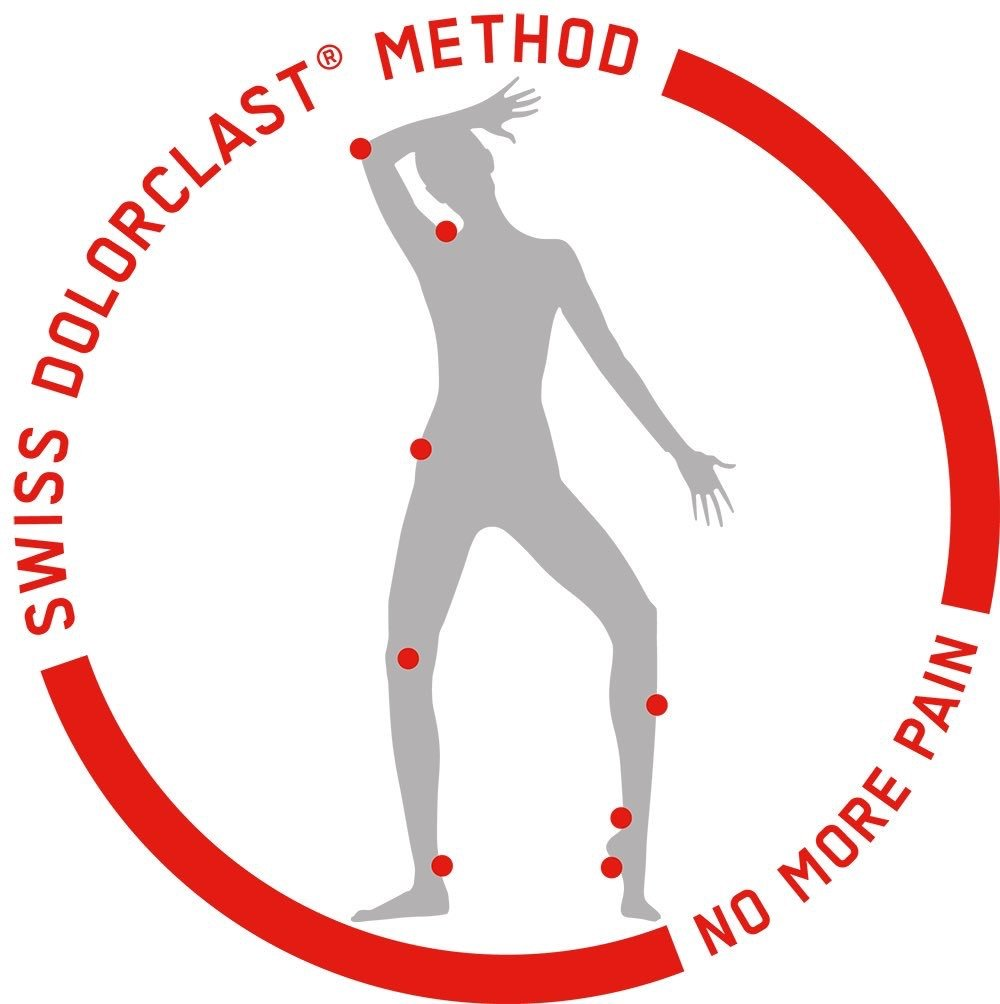 Swiss Dolorclast Method Shockwave for tendon pain