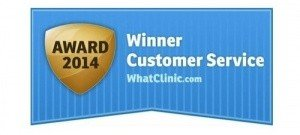 WhatClinic.com award Health & Sports Physiotherapy in Cardiff